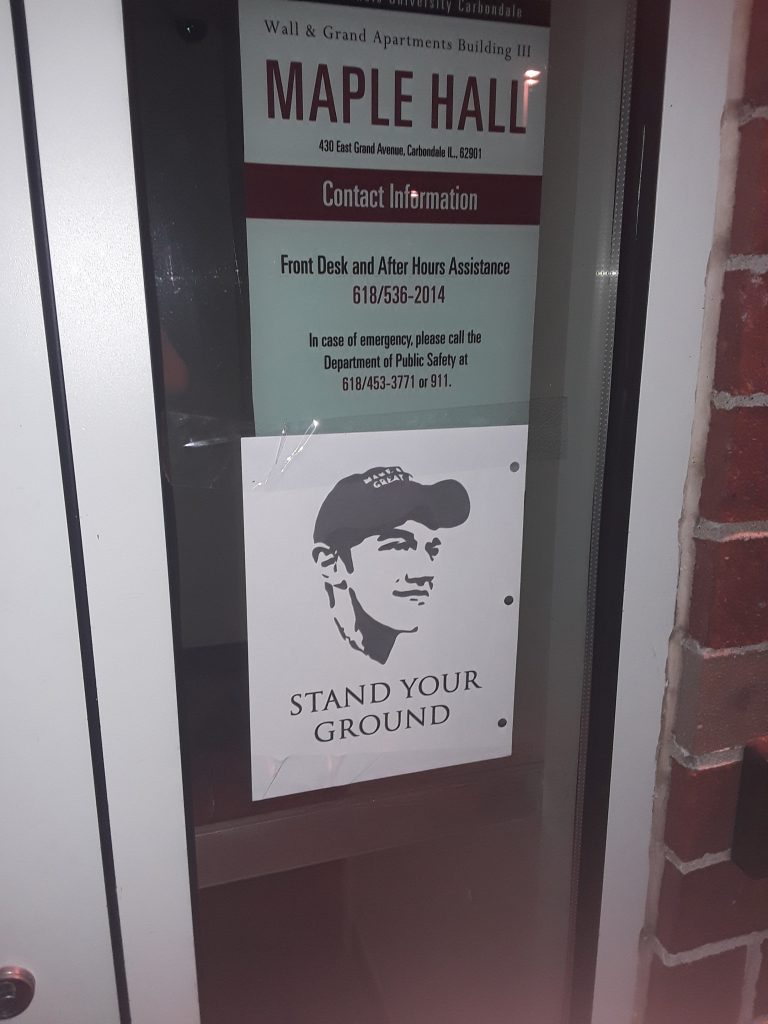 Operation Stand Your Ground Maple Hall