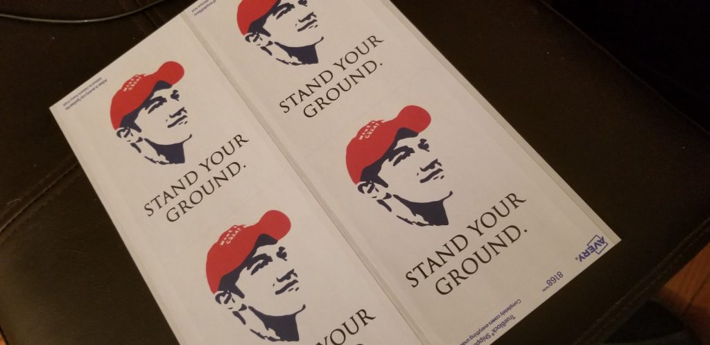 Operation Stand Your Ground Stickers 2