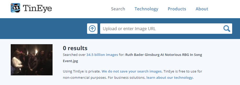 RBG Reverse Image Search 1