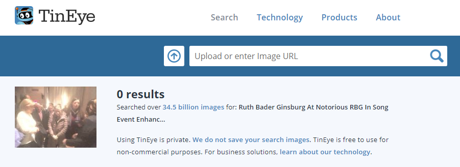 RBG Reverse Image Search 2