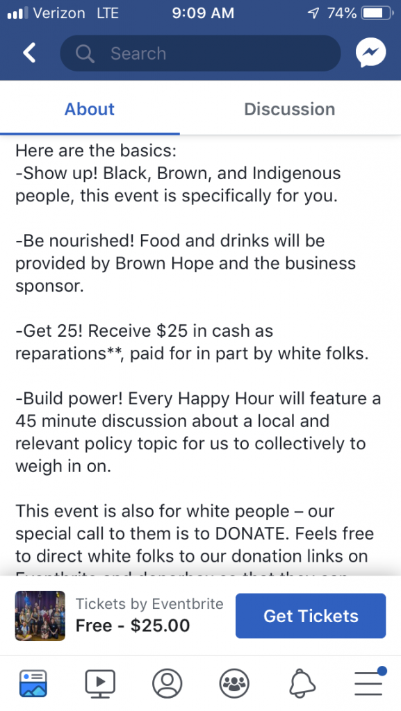 Reparations Power Hour 2