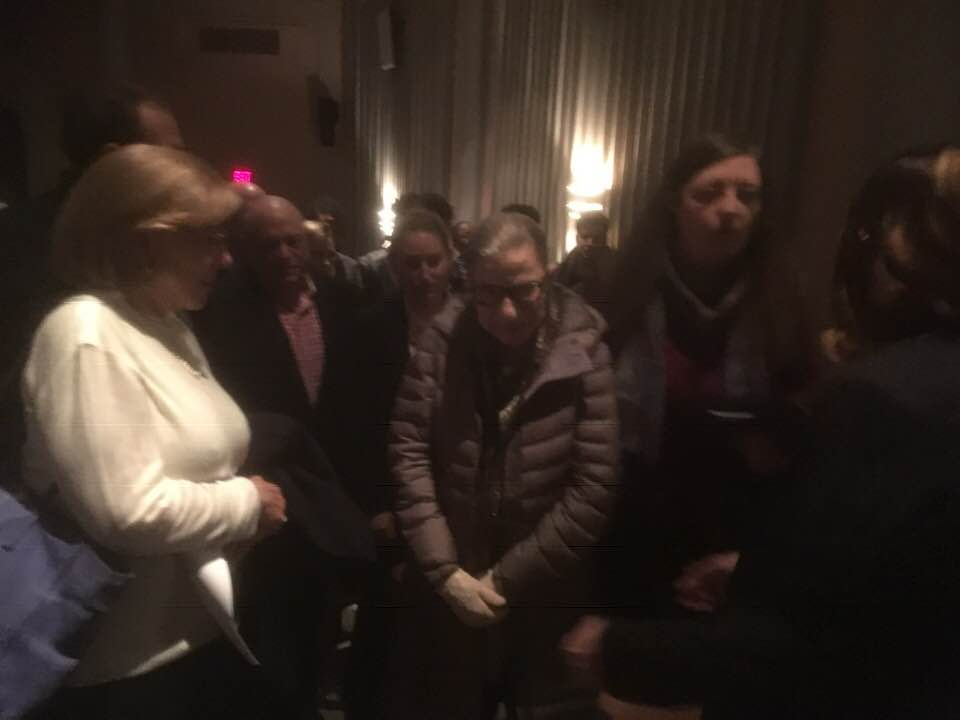 Ruth Bader Ginsburg At Notorious RBG In Song Event