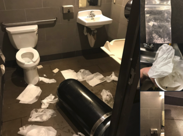 Starbucks Bathroom Mess