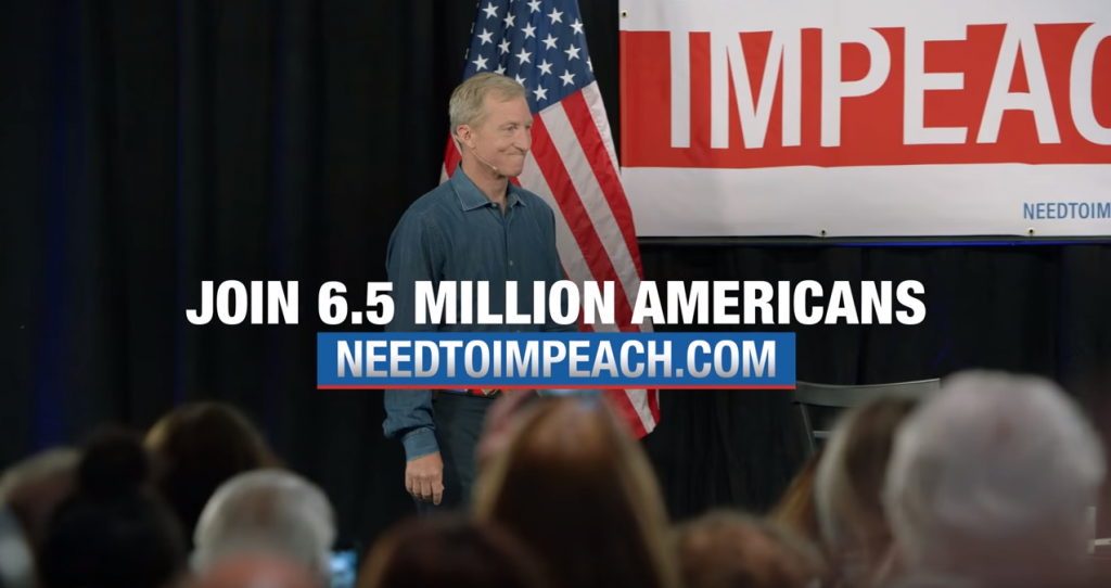Tom Steyer Need To Impeach Ad