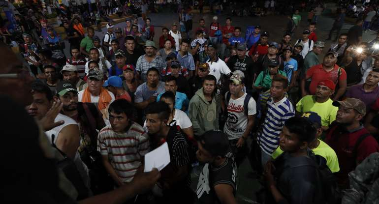 12,000 Honduran Migrants Mexico US