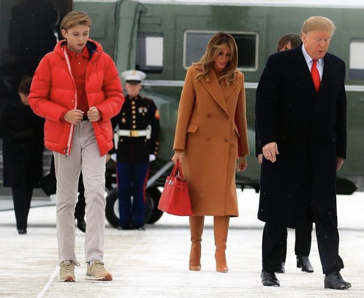 Barron Trump Is Very Tall 2