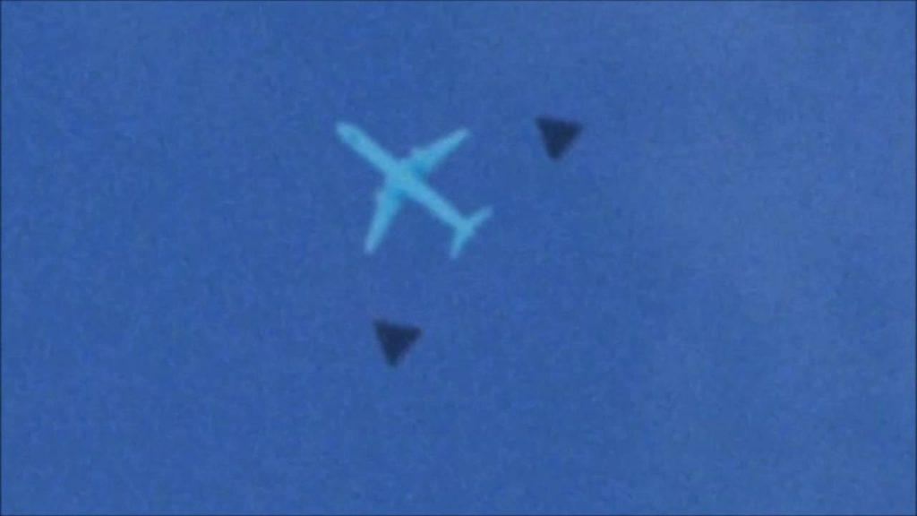 Black Triangle UFO 3