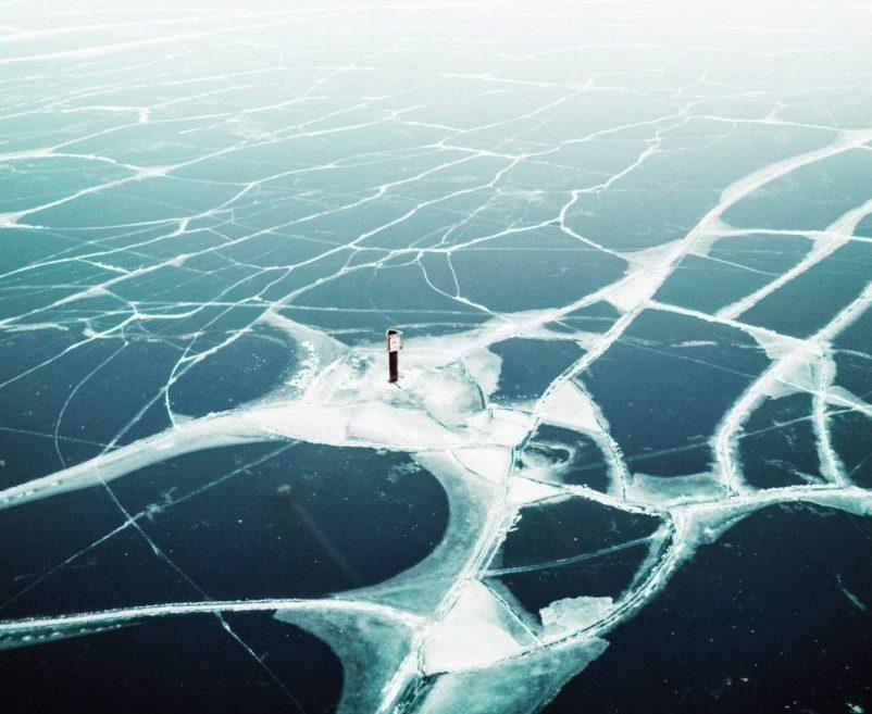 Chicago Lake Michigan Frozen Over 4