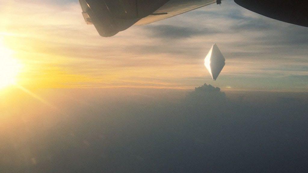 Diamond Shaped UFO