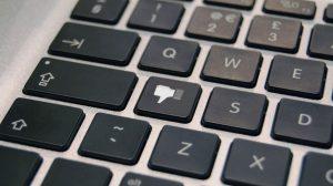 Dislike Button Keyboard