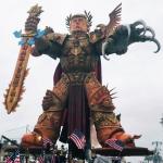 God Emperor Trump Float Italy