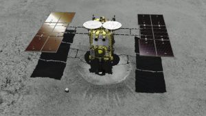 Japan Hayabusa2 Spacecraft Artists Rendition