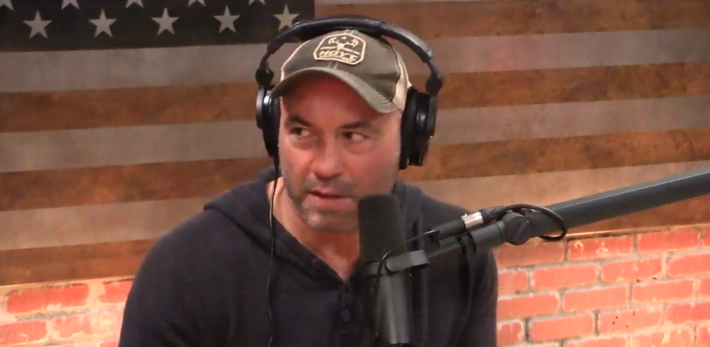 Joe Rogan People At His Door During Podcast