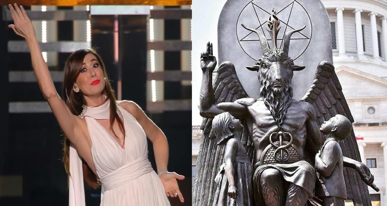 Virginia Raffaele Satan Baphomet