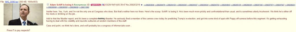 Adam Schiff Insider Scoop