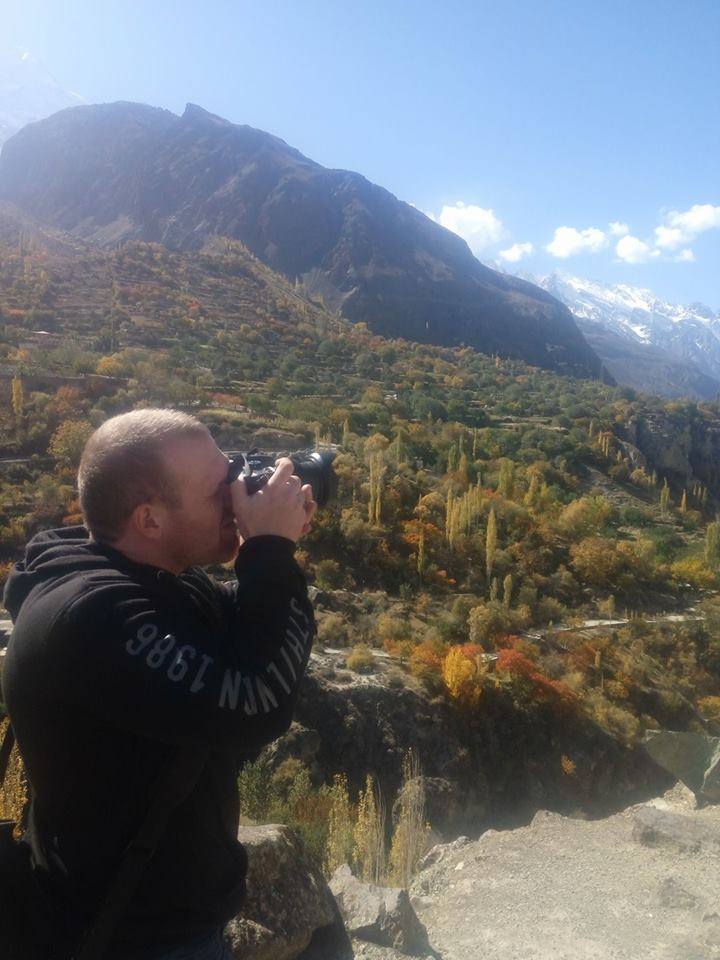 Brenton Tarrant Taking Photo Pakistan