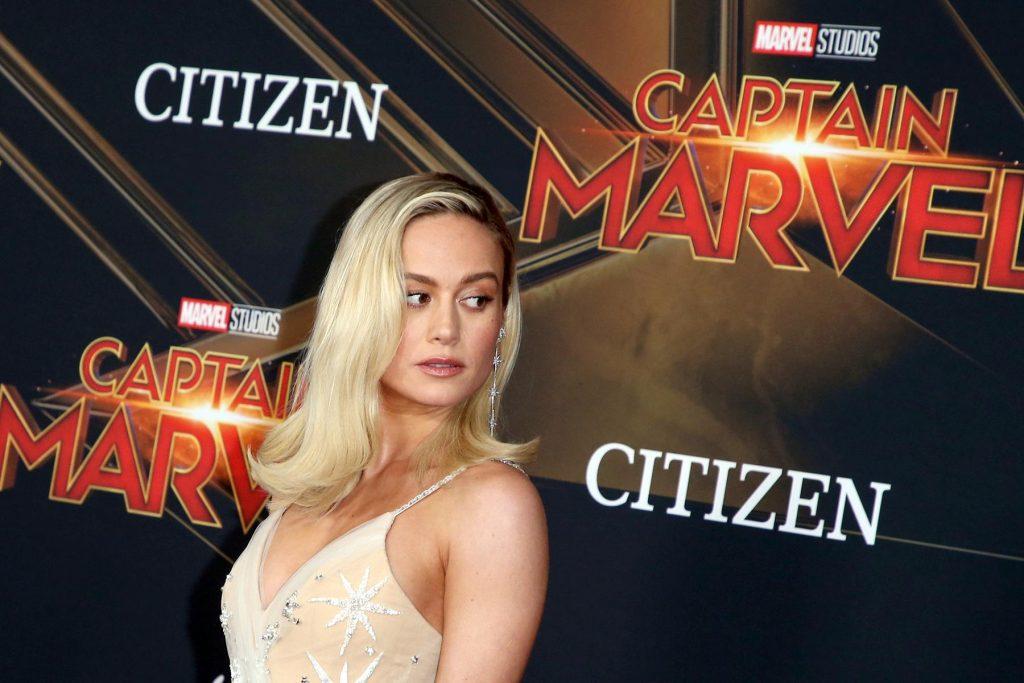 Brie Larson Captain Marvel Premiere