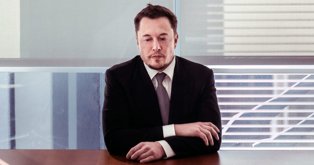 Elon Musk Financial Trouble