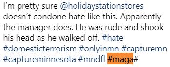 Instagram Ilhan Omar Threat MAGA Hashtag