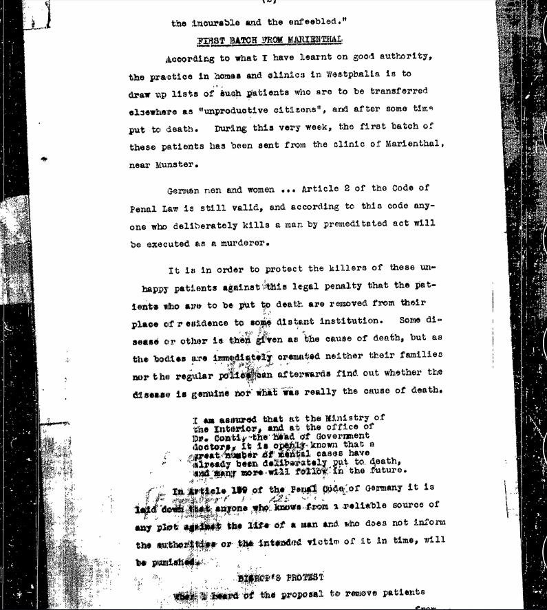 OSS Nazi Forced Euthanasia Policy 2
