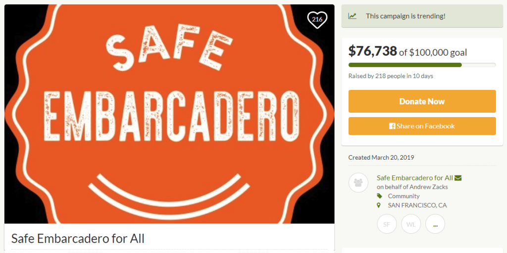 Safe Embarcadero for All
