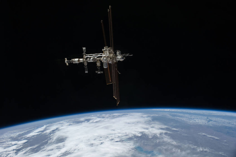 ISS In Orbit