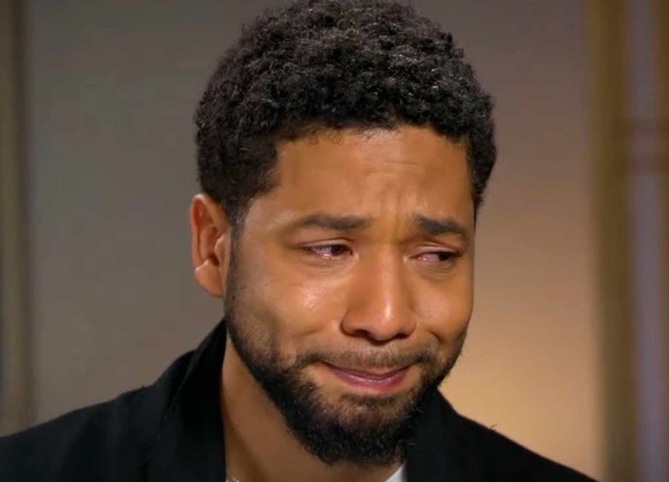 Jussie Smollett Crying Because He's An Actor