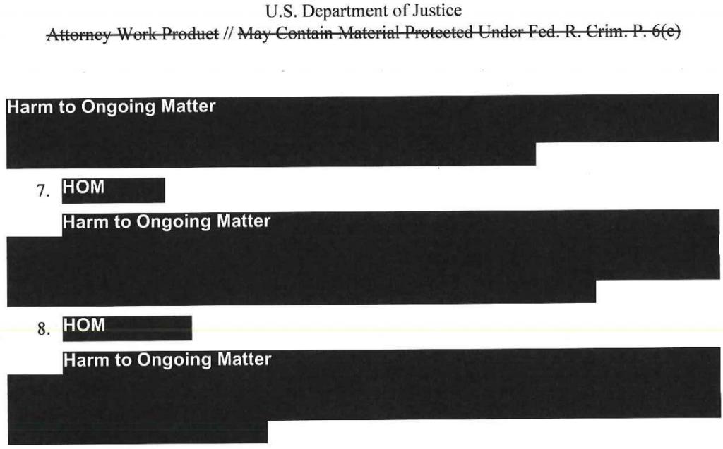 Mueller Insider Redacted Report Information