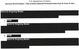 Mueller Insider Redacted Report Information