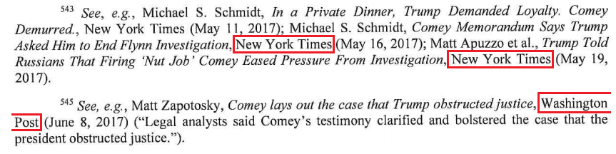 Mueller Report Mainstream Media Citation 4