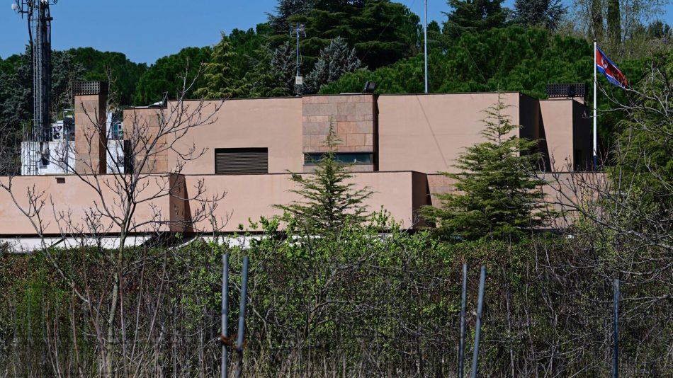 North Korean Embassy Madrid Spain