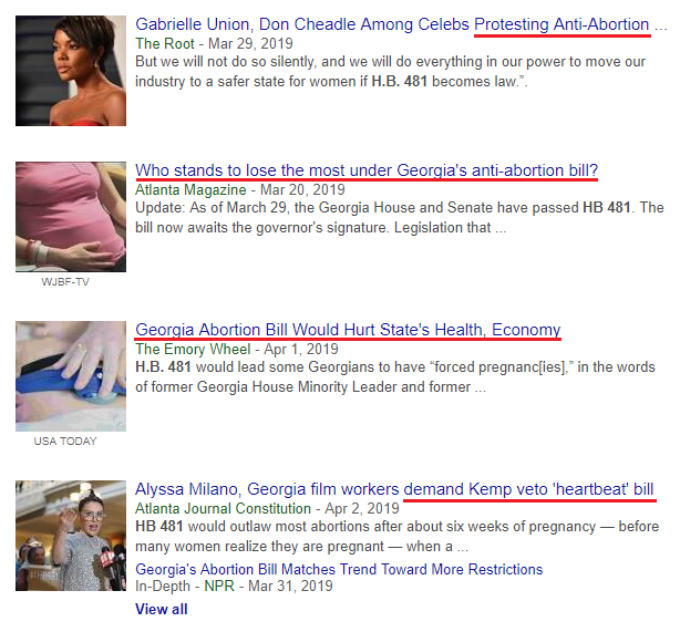 Search Results Anti-Abortion Bill