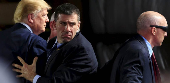 Secret Service Protecting President Trump
