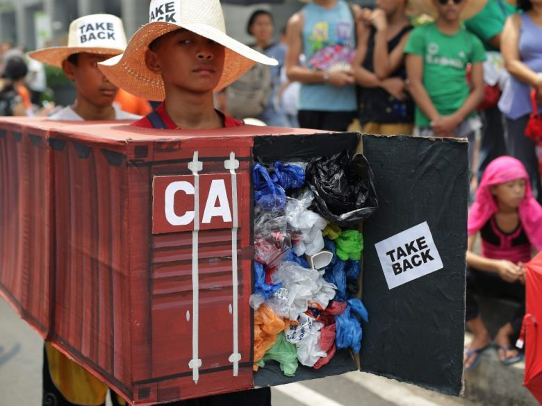 Take Back Garbage Filipino Activists To Canada