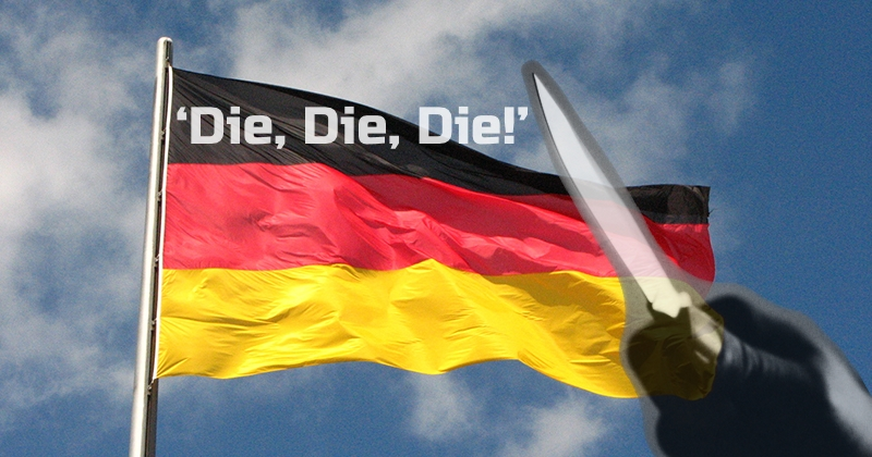 Eritrean Migrant Stabs Boy In Germany Yells Die Die Die