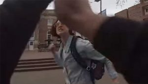 Pro-Choice Woman Attacks Pro-Life Student Unprovoked University Of North Carolina Chapel Hill