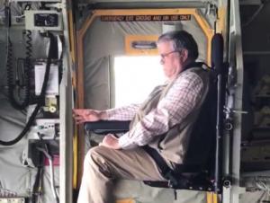 Bill Barr C-17 Military Transport Alaska