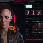Cyberpunk 2077 Gender Fluid Character Creation