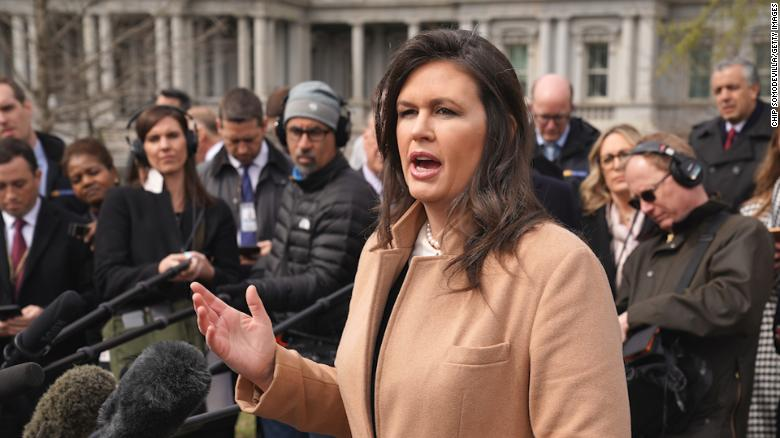 Sarah Sanders Leaving White House Possible Run Arkansas Governor
