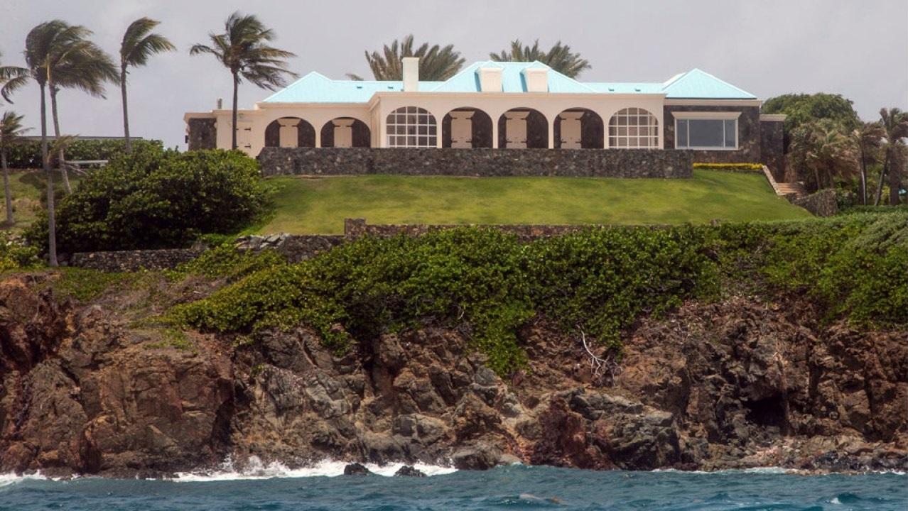 Epstein Little Saint James Island Mansion