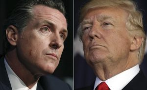 Gavin Newsom Donald Trump
