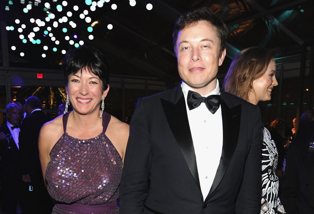 Ghislaine Maxwell Elon Musk West Hollywood Party