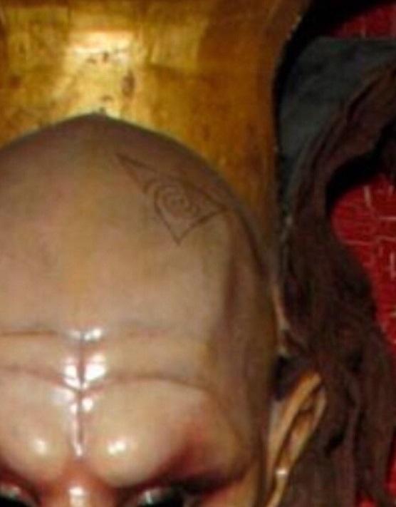 Ghislaine Maxwell Mask Closeup