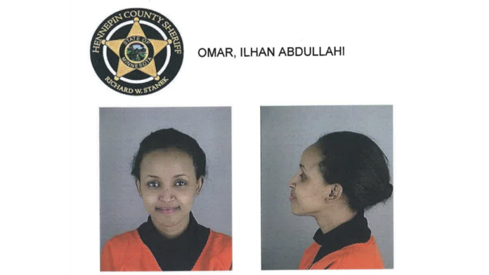 Ilhan Omar Booking Photo