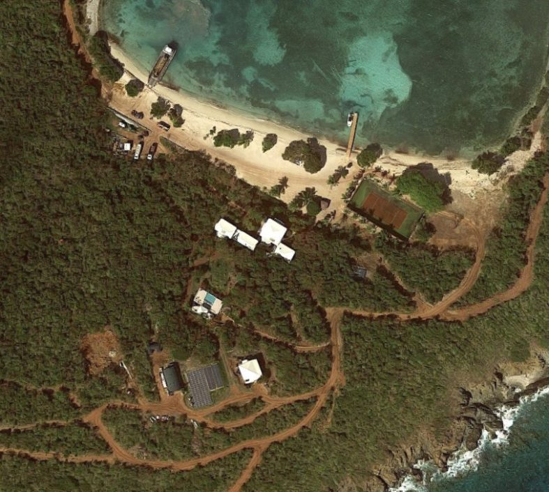 Jeffrey Epstein Great St James Island 2