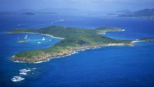 Jeffrey Epstein Great St James Island From Air
