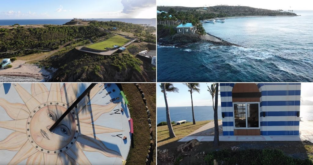Jeffrey Epstein Little St James Island 4K HD Drone Footage July