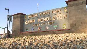 Mass Arrest US Marines Camp Pendleton California