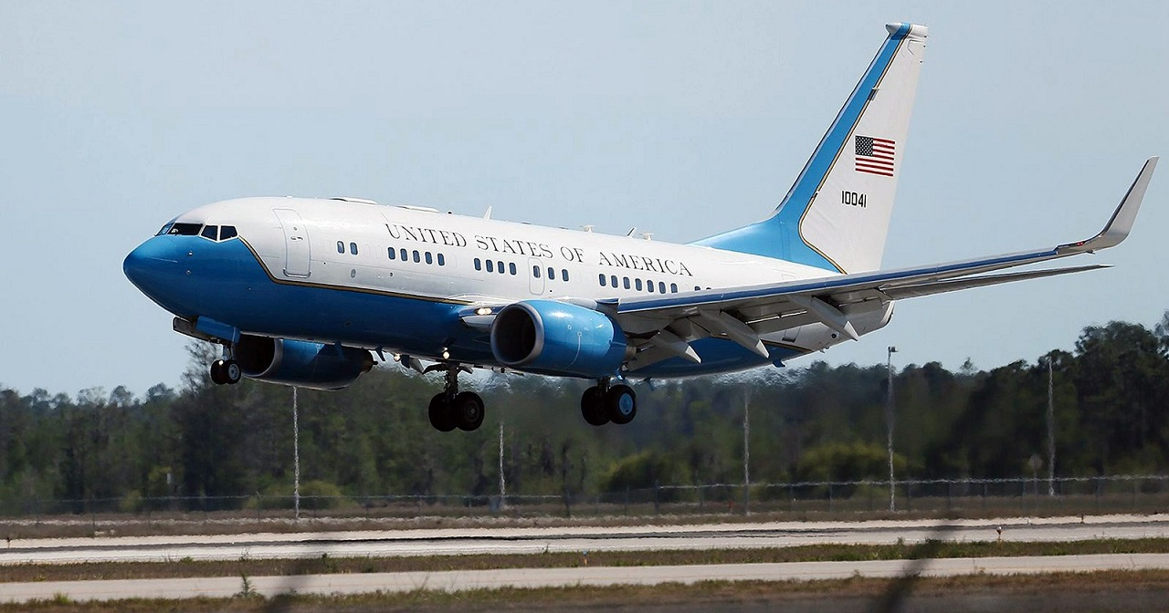 Mike Pence Air Force Two