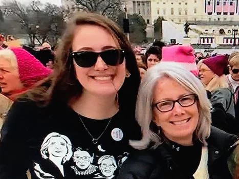 Patrice And Maurene Comey Women's March